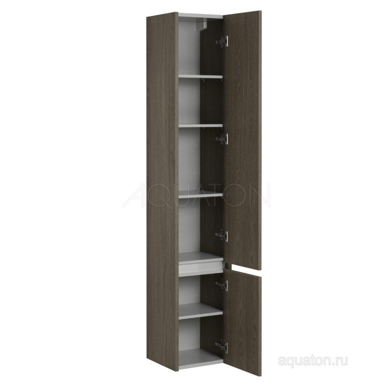 Шкаф - колонна Aquaton Стоун грецкий орех 1A228403SXC80
