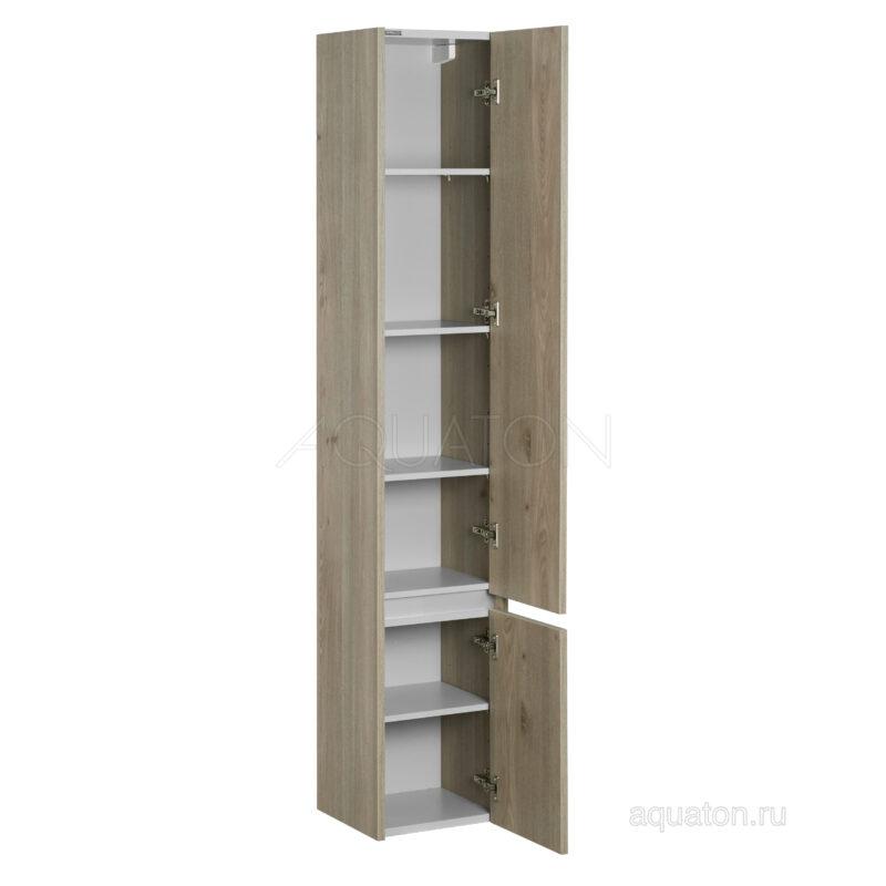 Шкаф - колонна Aquaton Стоун сосна арлингтон 1A228403SX850
