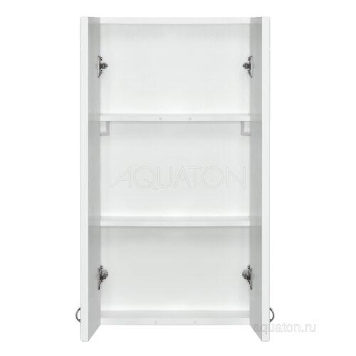 Шкафчик Aquaton Колибри двустворчатый левый белый 1A065403KO01L