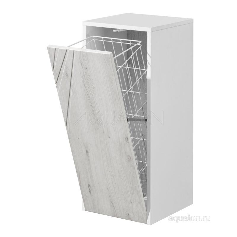 Шкафчик Aquaton Сакура с корзиной ольха наварра