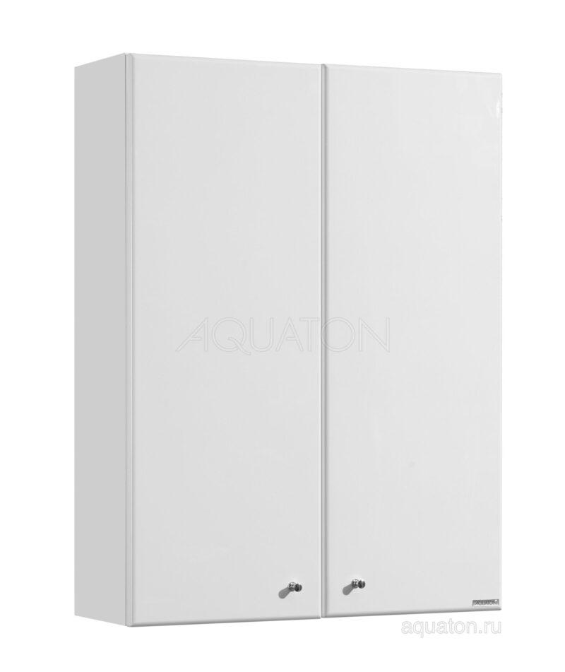 Шкафчик Aquaton Симпл двустворчатый белый 1A012403SL010