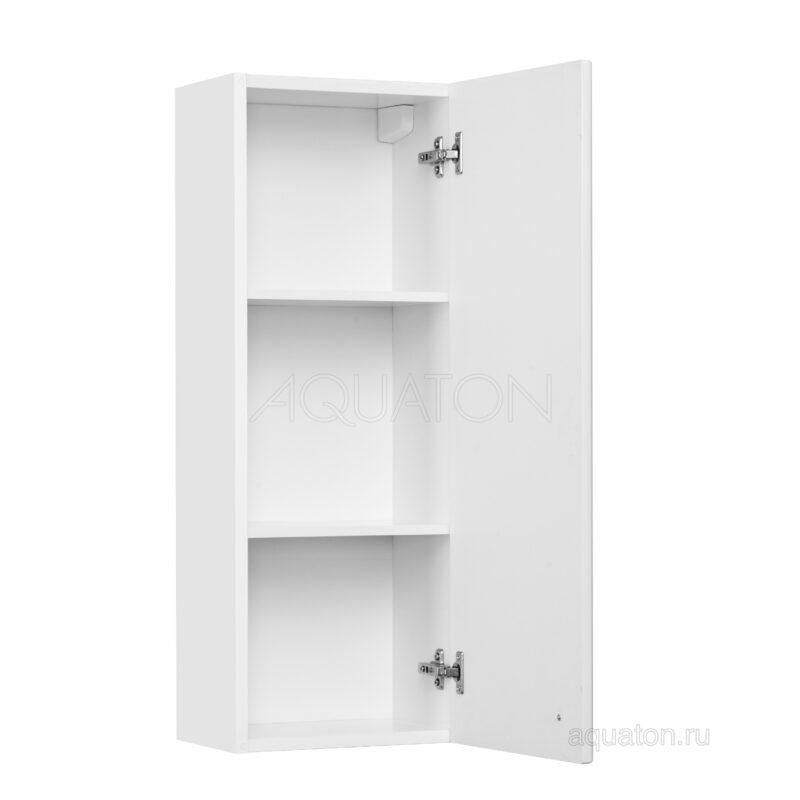 Шкафчик Aquaton Симпл одностворчатый правый белый 1A012503SL01R