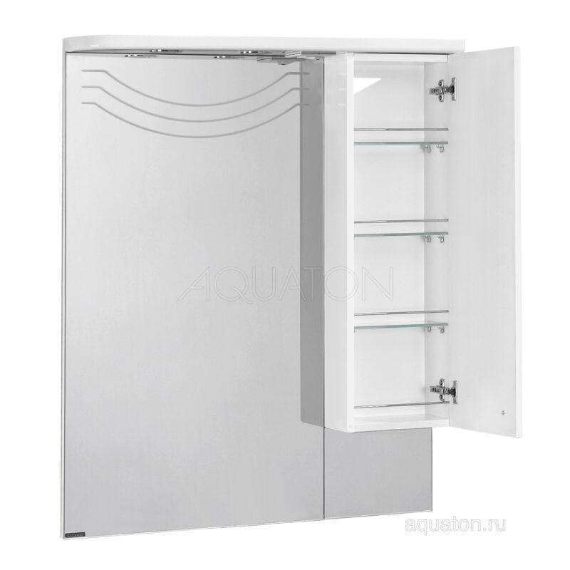 Зеркальный шкаф Aquaton Домус правый белый 1A001002DO01R