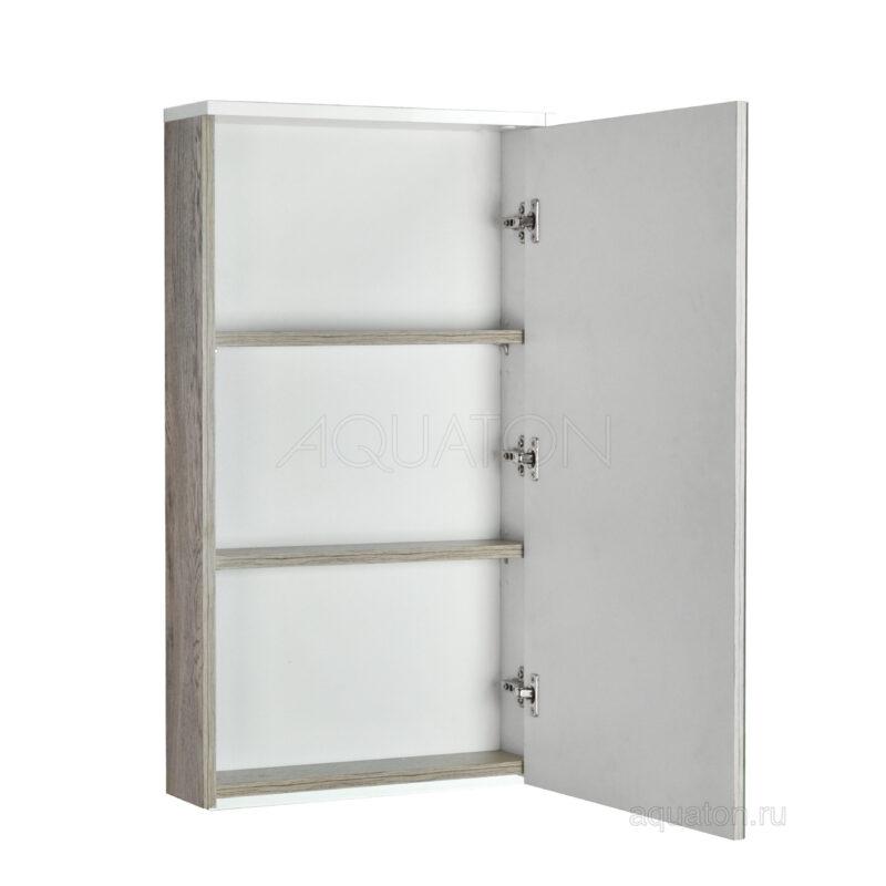 Зеркальный шкаф Aquaton Эмма белый