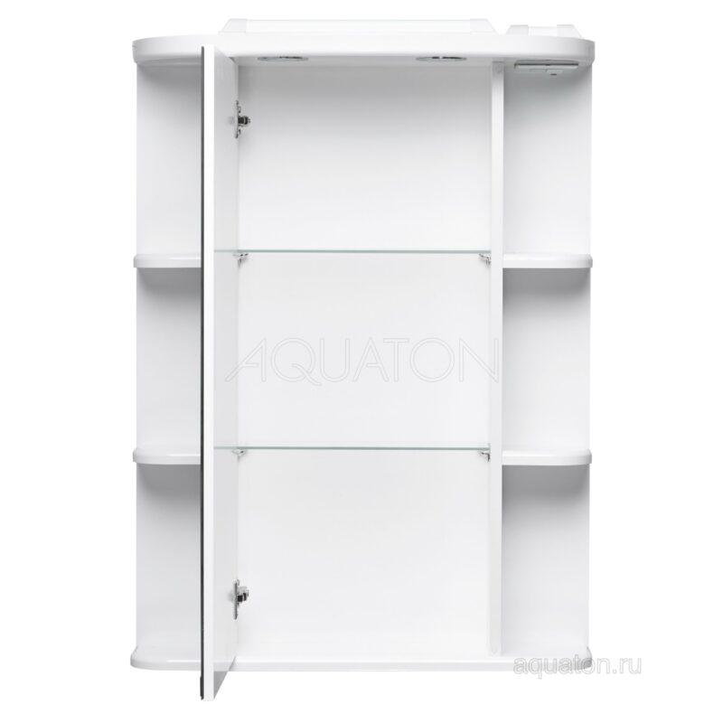 Зеркальный шкаф Aquaton Кристалл левый 1A000102KS01L