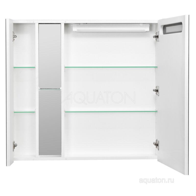 Зеркальный шкаф Aquaton Марко 100 белый 1A190402MO010