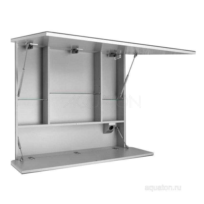 Зеркальный шкаф Aquaton Валенсия 110 белый 1A125402VA010