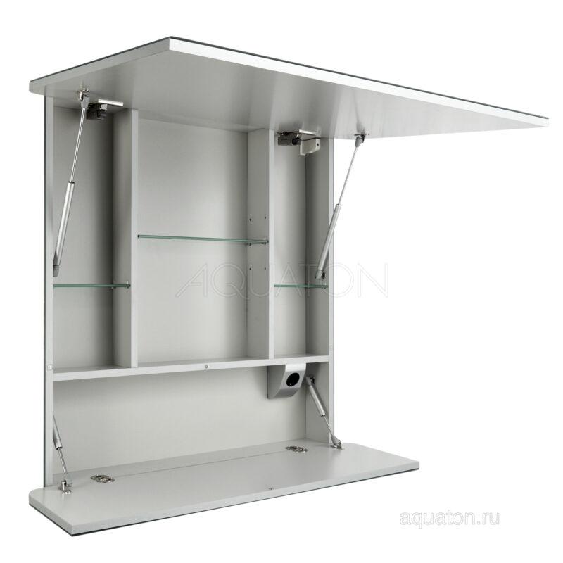 Зеркальный шкаф Aquaton Валенсия 90 белый 1A125102VA010