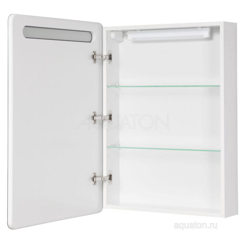 Зеркальный шкаф Aquaton Америна 60 левый белый 1A135302AM01L
