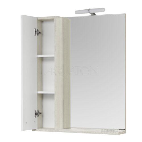 Зеркальный шкаф Aquaton Бекка PRO 70 белый