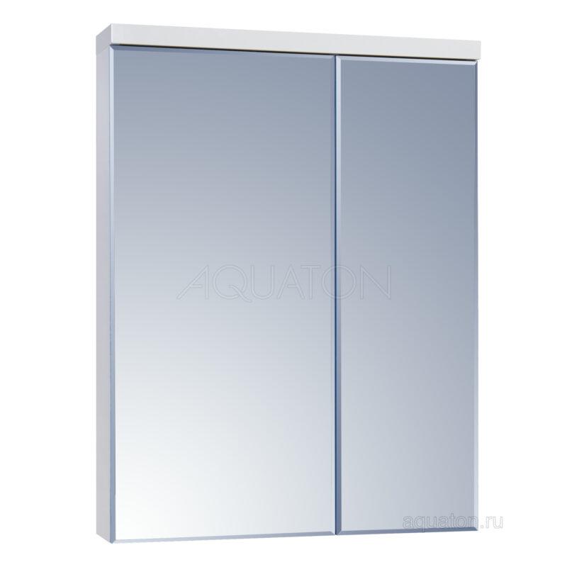 Зеркальный шкаф Aquaton Брук 60 белый 1A200502BC010