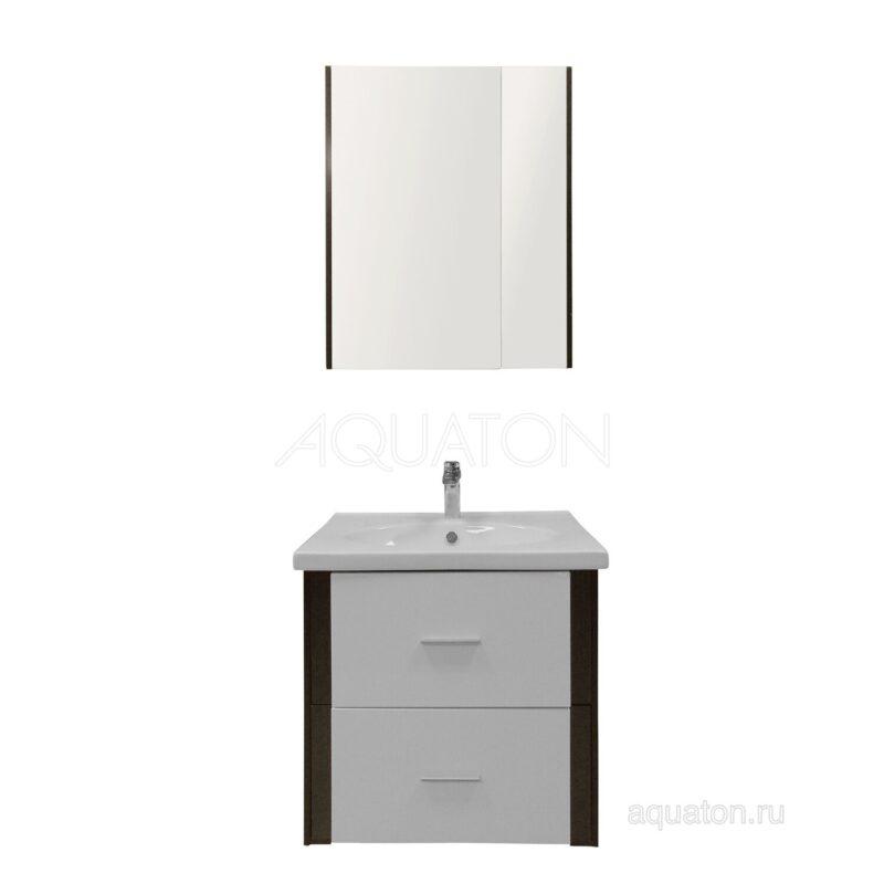 Зеркальный шкаф Aquaton Денни 60 венге 1A197302OB500
