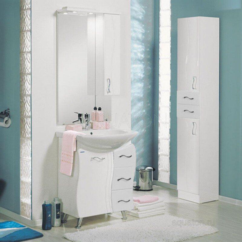 Зеркальный шкаф Aquaton Дионис М прав 1A008002DS01R