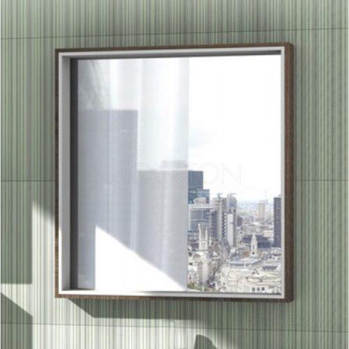 Зеркальный шкаф Aquaton Фабиа 80 белый