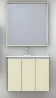 Зеркальный шкаф Aquaton Фабиа 80 ваниль 1A166902FBPD0