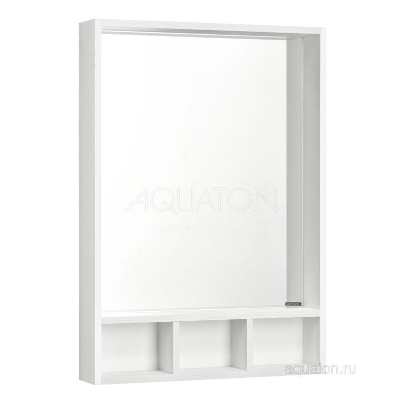 Зеркало Aquaton Йорк 60 белый