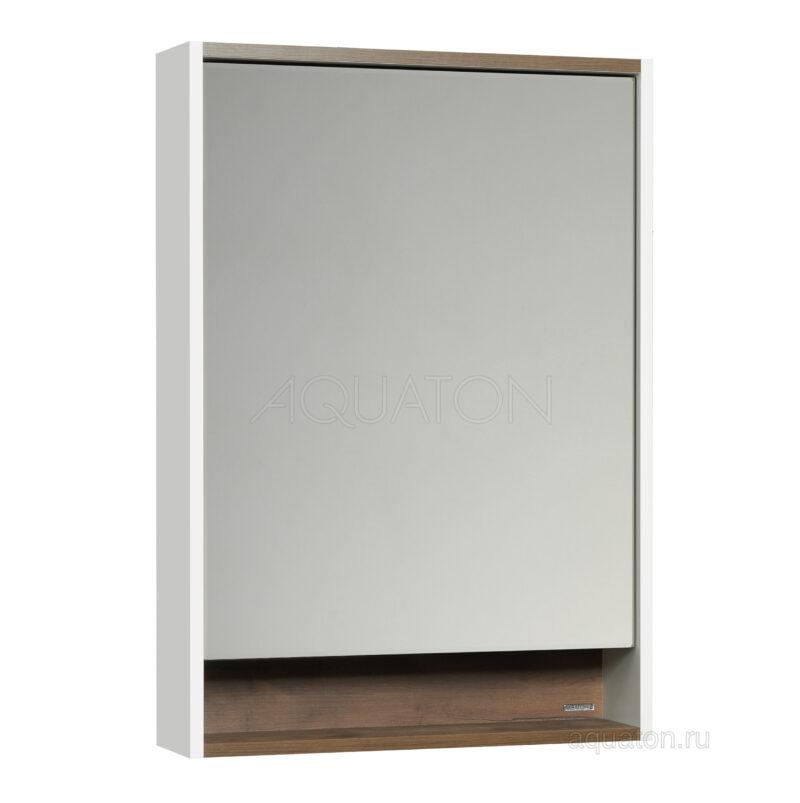 Зеркальный шкаф Aquaton Капри 60 таксония темная 1A230302KPDB0