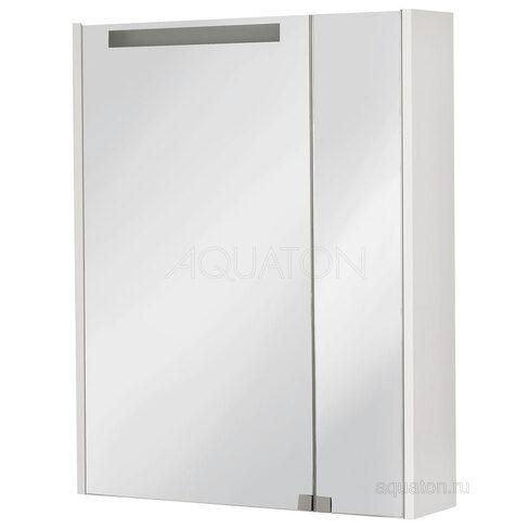 Зеркальный шкаф Aquaton Мерида 65 белый 1A193402MF010