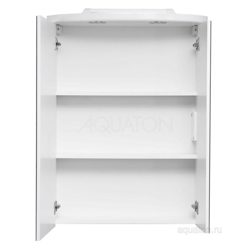 Зеркальный шкаф Aquaton Норма белый 1A002102NO010