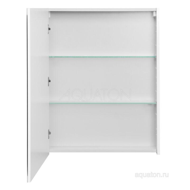 Зеркальный шкаф Aquaton Нортон 65 белый 1A249102NT010
