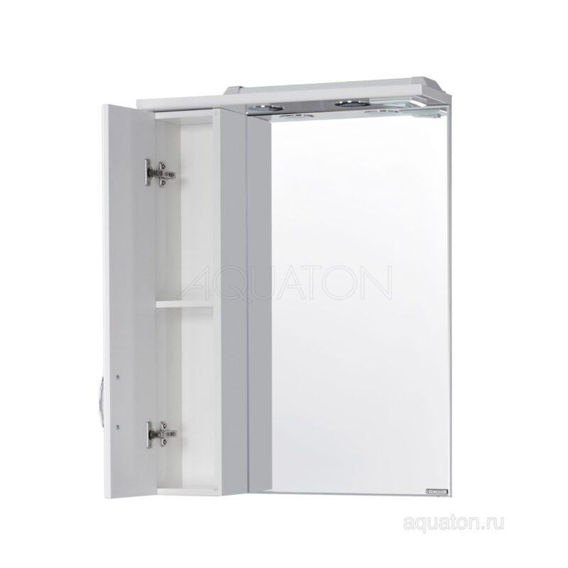 Зеркальный шкаф Aquaton Онда левый белый 1A009802ON01L