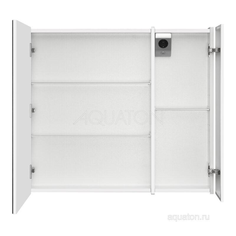 Зеркальный шкаф Aquaton Ондина 80 белый 1A183502OD010