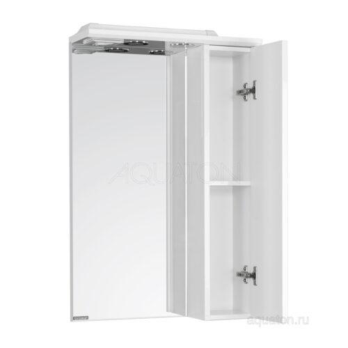 Зеркальный шкаф Aquaton Панда 50 правый белый 1A007402PD01R