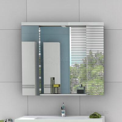 Зеркальный шкаф Aquaton Ричмонд 100 белый 1A145102RD010