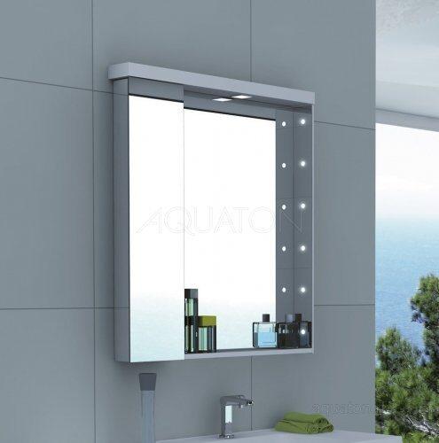 Зеркальный шкаф Aquaton Ричмонд 80 белый 1A152602RD010