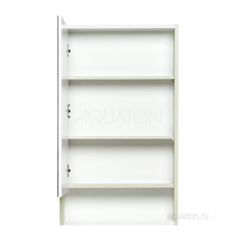 Зеркальный шкаф Aquaton Рико 50 белый