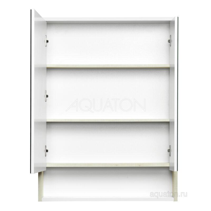 Зеркальный шкаф Aquaton Рико 65 белый