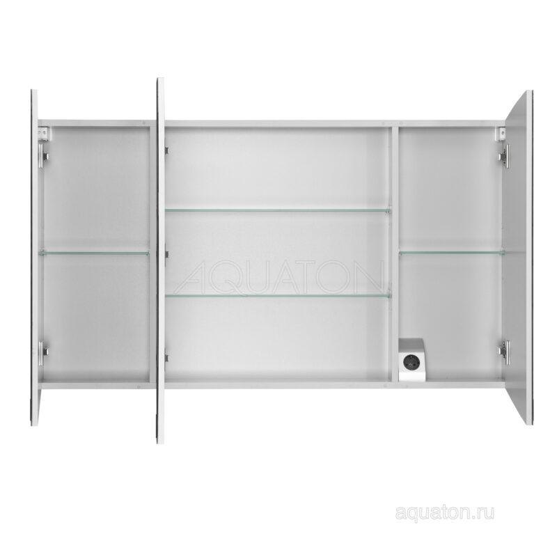 Зеркальный шкаф Aquaton Севилья 120 белый 1A125702SE010