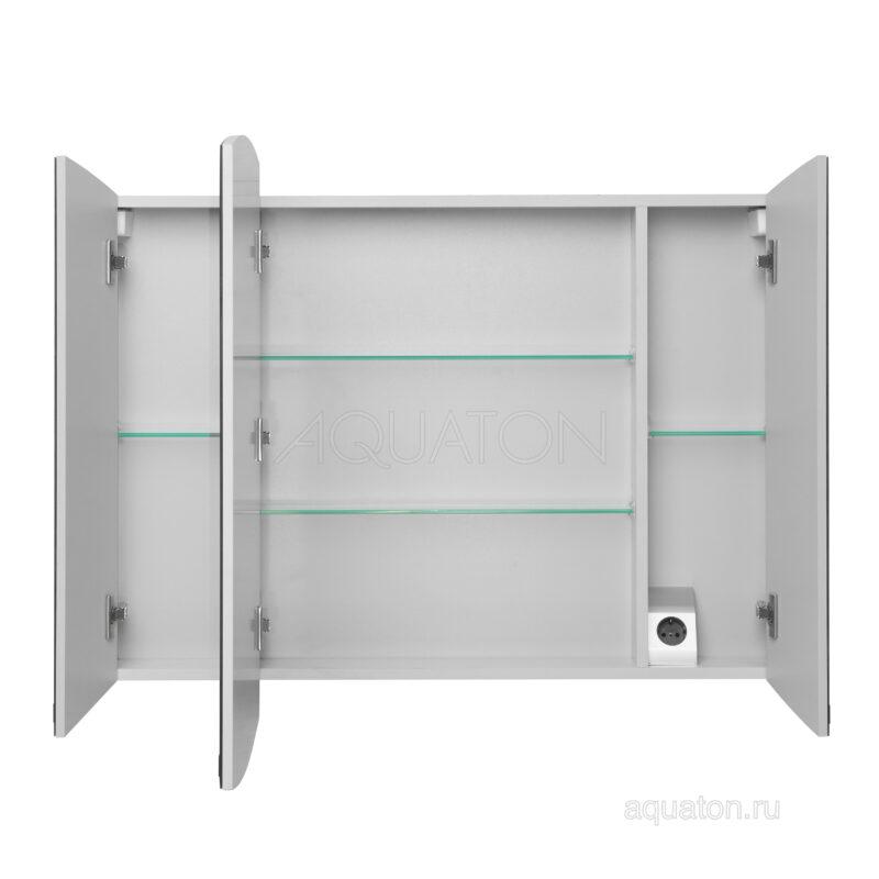 Зеркальный шкаф Aquaton Севилья 95 белый 1A125602SE010