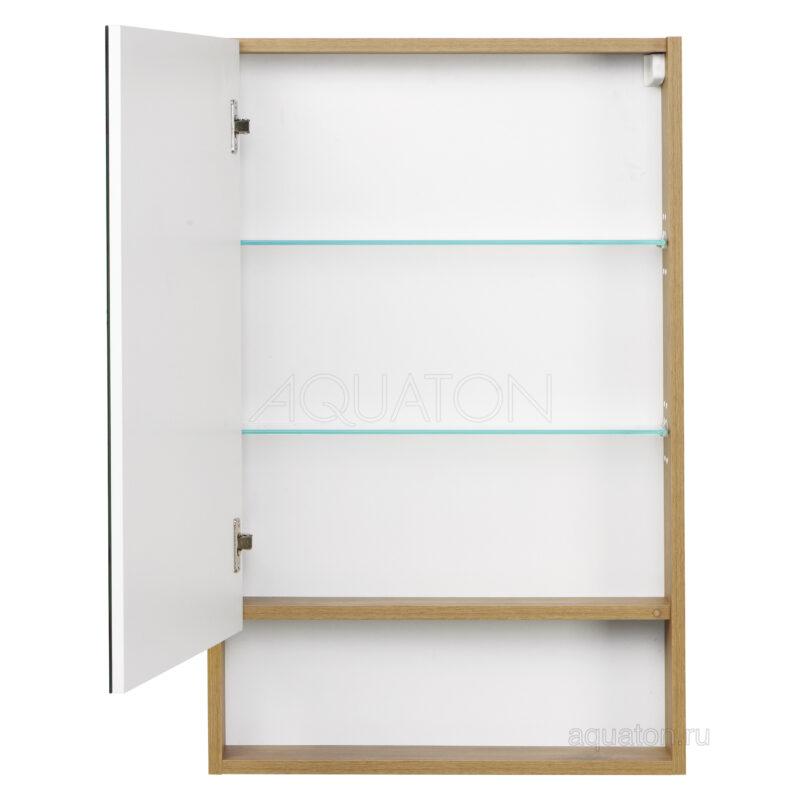 Зеркальный шкаф Aquaton Сканди 55 белый