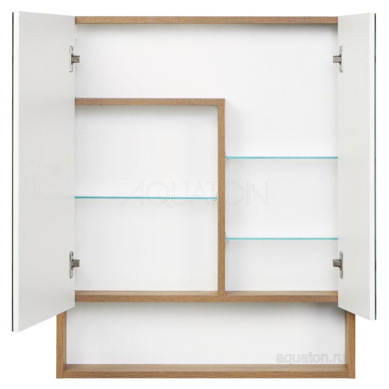 Зеркальный шкаф Aquaton Сканди 70 белый