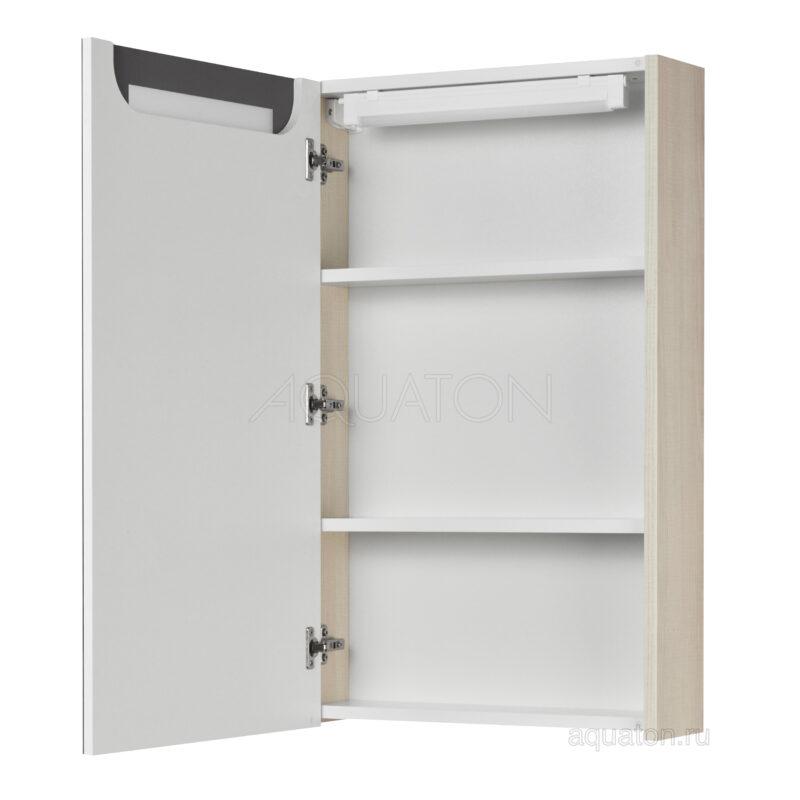 Зеркальный шкаф Aquaton Верди PRO 50 белый