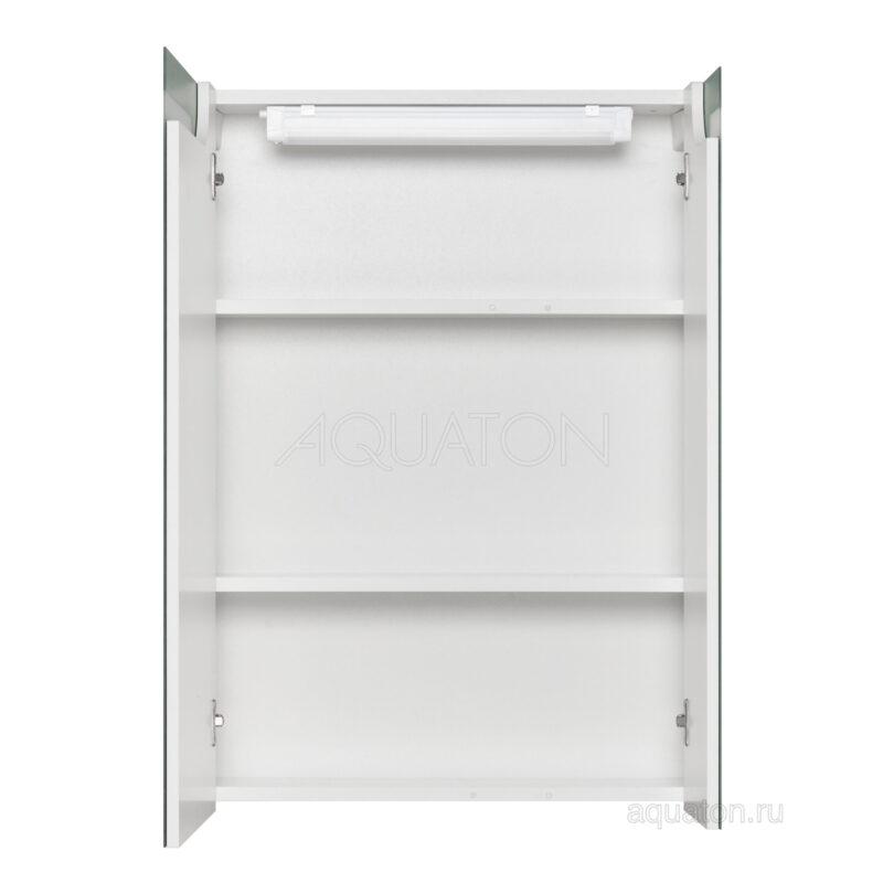 Зеркальный шкаф Aquaton Верди PRO 60 белый