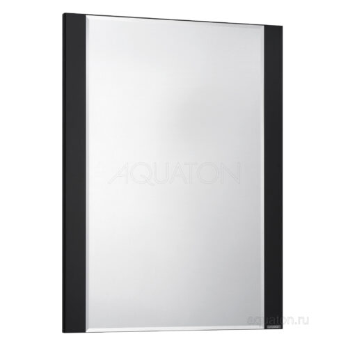 Зеркало Aquaton Ария 65 черный глянец 1A133702AA950