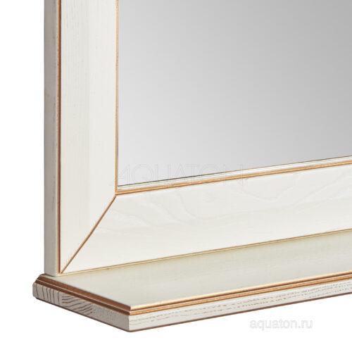 Зеркало Aquaton Беатриче 85 слоновая кость с патиной 1A191802BEM60