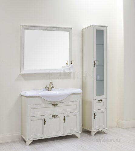 Зеркало Aquaton Идель 105 дуб белый 1A197902IDM70