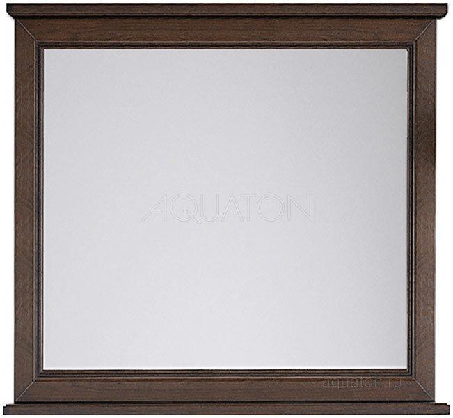 Зеркало Aquaton Идель 85 дуб шоколадный 1A195702IDM80