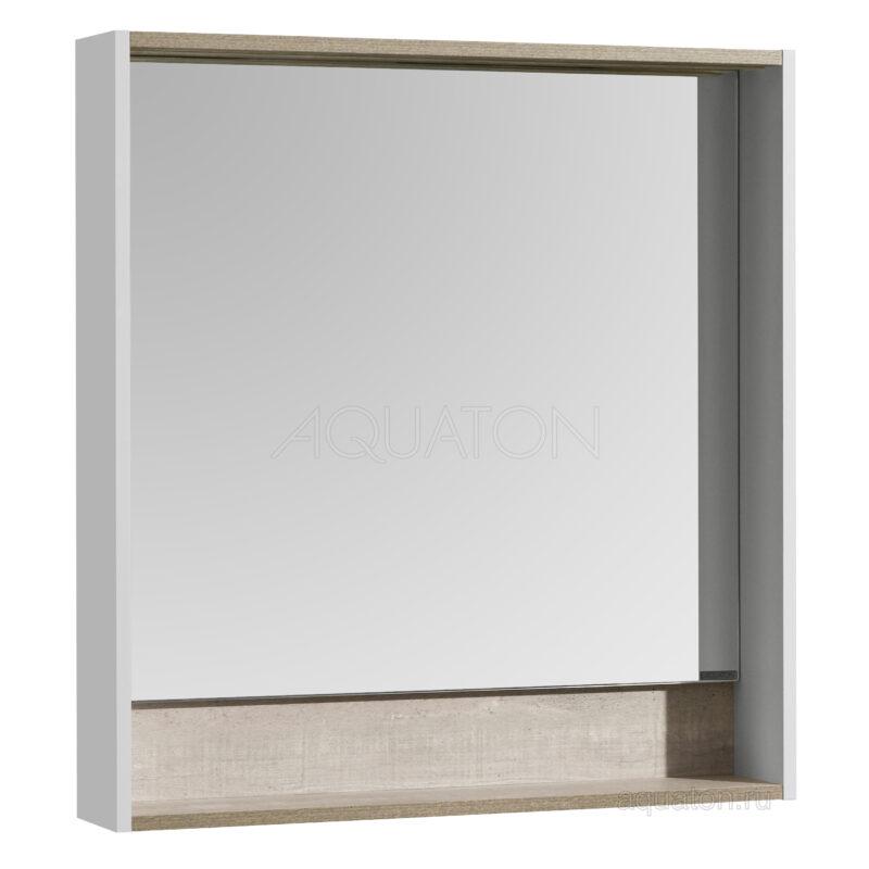 Зеркало Aquaton Капри 80 Бетон пайн 1A230402KPDA0