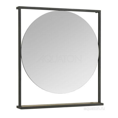 Зеркало Aquaton Лофт Фабрик 80 дуб эндгрейн