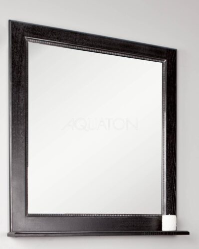 Зеркало Aquaton Жерона 85 черное серебро 1A158702GEM50