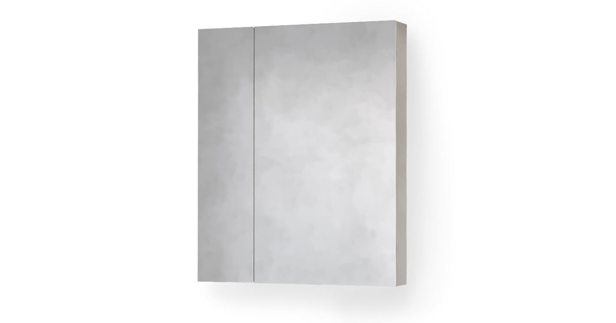 Зеркало-шкаф Quadro-Fest 60 Белое Qua.03.60/W