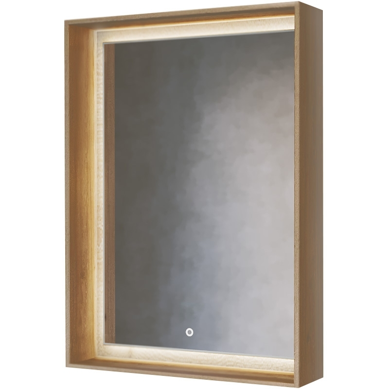 Зеркало Frame 60 Дуб трюфель с подсветкой (сенсор) Fra.02.60/DT