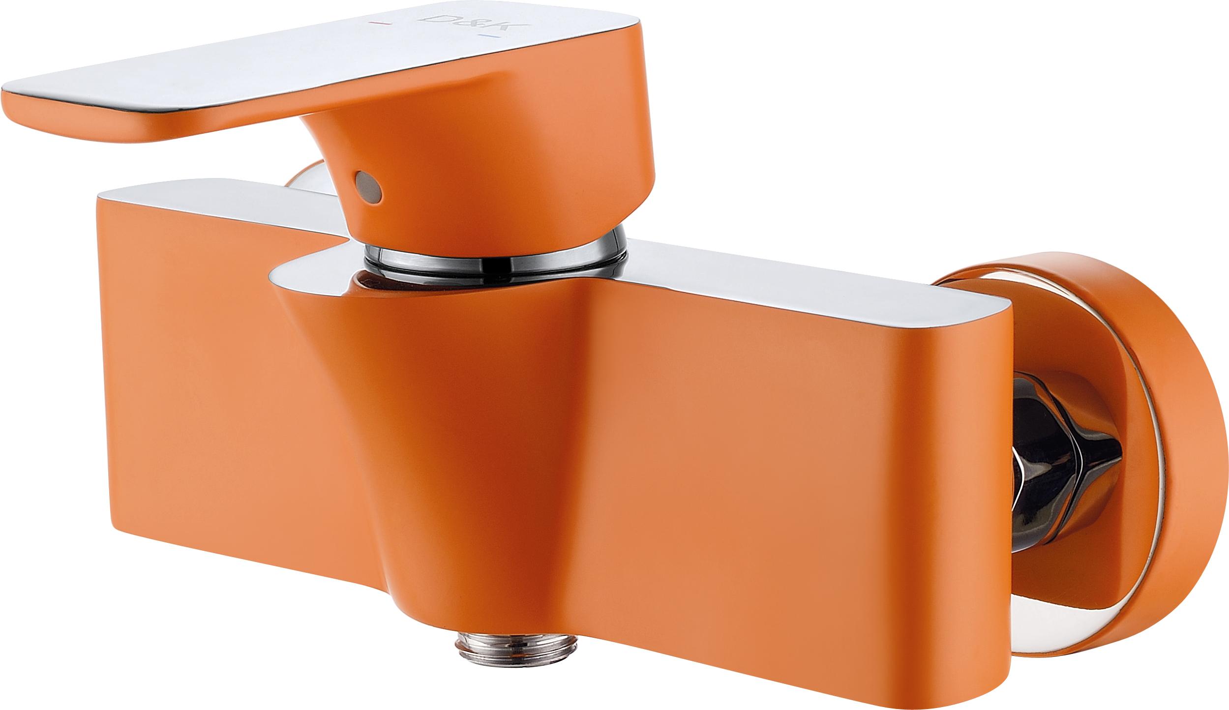 Смеситель для душа D&K Berlin.Kunste DA1433113 оранжевый-хром