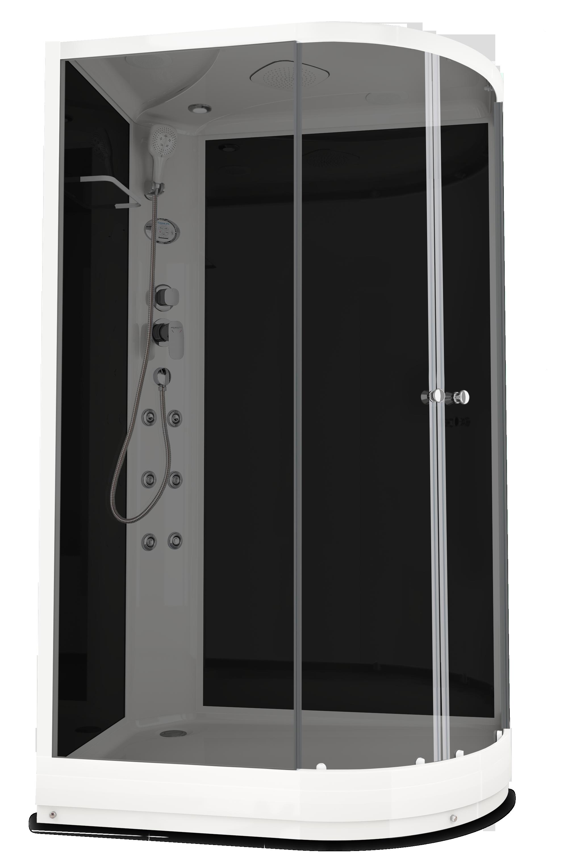 Душевая кабина DOMANI-SPA DELIGHT 128 L 120Х80 с блоком управления и гидромассажем