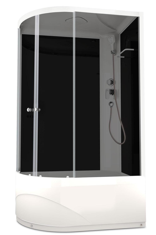 Душевая кабина DOMANI-SPA DELIGHT HIGH 128 R 120Х80 с блоком управления и гидромассажем