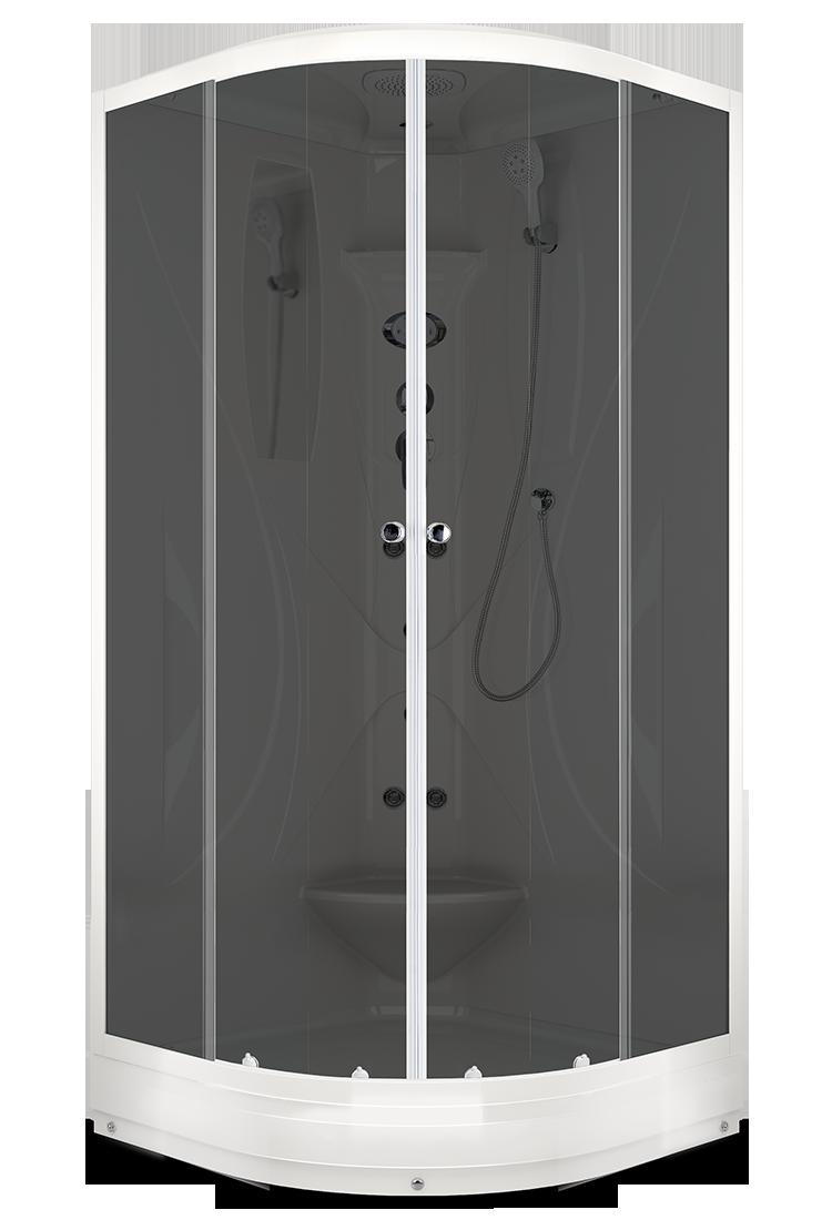 Душевая кабина DOMANI-SPA ELEGANCE 90Х90 с блоком управления и гидромассажем